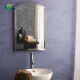 Grande salle de bains Décoration ronde Silver miroir mural décoratif pour la maison