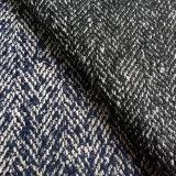 Цветастая ткань шерстей одежды из твида многоточий, ткань пальто Hbt шерстяная