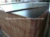 Resistente al agua de color marrón/negro/Antideslizante encofrados Film enfrenta el contrachapado para construcciones