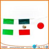 De activiteit gebruikte Heldere Decoratieve Vlaggen op Koord