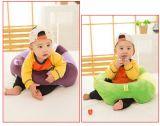 앉는 의자, 게임 착석을 식사해 견면 벨벳에 의하여 채워지는 아기 유아