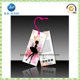 Étiquette de la Chine nouvelle conception de l'impression/de l'habillement des balises pour vêtements de femmes (JP-HT073)