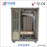 ボイラー燃焼のサポートのためのHhoの水素の発電機