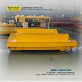 Carro automatizado bobina de acero de la carretilla de la transferencia de Bwp-25t en el cemento