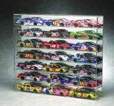 Banco di mostra acrilico acrilico di caso di visualizzazione per il caso di visualizzazione acrilico dell'automobile di modello dell'automobile di modello