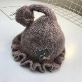新しいデザイン長い耳を搭載する冬によって編まれる帽子の帽子