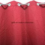 2018 100 % polyester pur Red Hot rideau de fenêtre intérieure Chiffon de vente