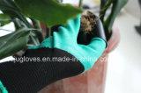 파는 장갑을 설치하는 유액 거품 입히는 정원