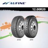 Neumático de Camión radial de acero de China Aufine (1200r20 y 1200R24)