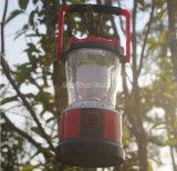 Luz de acampamento por atacado do diodo emissor de luz da energia solar, lâmpada de suspensão, luz da barraca