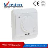 Wst-12 16A 230VAC LCD Bildschirmanzeige-programmierbarer Raum-Thermostat