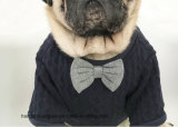 Novo Design Bow tie grossista de produtos Pet Cat Suéter roupas de cachorro cão de estimação de moda