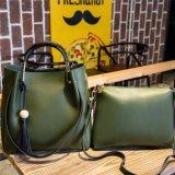 2018組の女性流行PU革デザイナー2 PCSセットのハンドバッグ