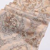 China-kundenspezifisches Qualitäts-elegantes Polyester-schönes elegantes gesponnenes Jacquardwebstuhl-Gewebe