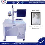 Máquina de la marca de la etiqueta de plástico del laser de la fibra del vector para los aceros inoxidables de aluminio