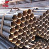 Feito em quente do Web site de China mergulhado galvanizado em volta das tubulações de aço para a estufa do borne da cerca