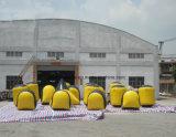 판매를 위한 공기에 의하여 Paintball 밀봉되는 팽창식 방탄호