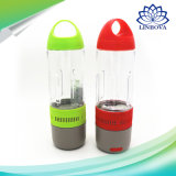Mini altofalante impermeável ao ar livre multinacional de Bluetooth do banco da potência da garrafa de água
