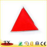 亜鉛金属の三角形の形の警察は記章を付ける
