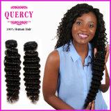 Quercy 모발 제품 8A 브라질 인간적인 Virgin 머리가 Malaysian 컬 머리에 의하여 길쌈한다