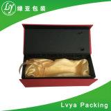 El repujado de lámina caliente de cartón de Vino Tinto personalizados de papel de embalaje Caja de regalo