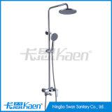 Fait sur commande dans la douche en laiton d'en cuivre de jeux de douche de la Chine place des robinets