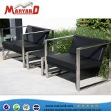 Un style moderne, châssis en acier inoxydable canapé définie à partir de la Chine Foshan Shunde Fabrication