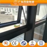 Mur rideau en verre avec le profil en aluminium choisi