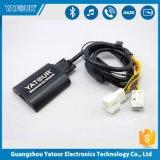 Kit para coche Bluetooth Reproductor de MP3 Transmisor FM Mult-Function llamadas manos libres USB Cargador de coche