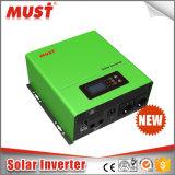 1200W純粋な正弦波ハイブリッド太陽インバーターDC12V/24V AC220V/230V