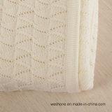 Manta merina lavable estupenda de lujo de 2017 del nuevo diseño lanas de la máquina suave