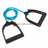 Maniglie registrabili degli elastici dell'espansore della fascia di Gymnastik del tubo di forma fisica