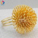 2018 Китая новый стиль золотой цветочный Rhinestone Napkin кольцо