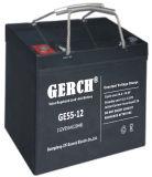 12V 55AH герметичный свинцово-кислотный аккумулятор глубокую цикла солнечной гель колеса стул аккумуляторной батареи