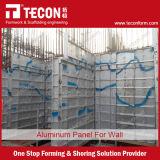 China-konkrete Aluminiumverschalung für Wand und Platte