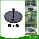 Décoration de flottement actionnée solaire d'horizontal de fontaine de pouvoir d'arrosage d'usines de jardin de panneau solaire de pompe à eau de fontaine d'étang