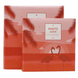 4*6'' de l'impression Flamigo capot papier Photo Album