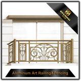 Pêche à la traîne en aluminium de pulvérisation de balcon de garantie de jardin de villa