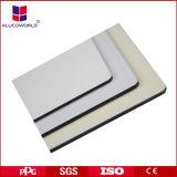 Panneau composé en aluminium d'intérieur de mur décoratif blanc pur de l'ACP 4X8