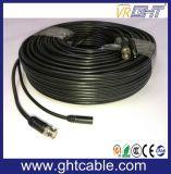 BNCおよびDCのコネクターが付いている高品質CCTVケーブル