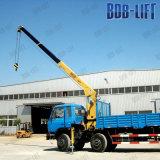 L'iso del Ce certifica la gru montata camion telescopico idraulico della gru dell'asta