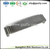 6.063 T5 Dissipador de calor em alumínio anodizado Personalizado Perfil de Extrusão