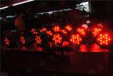 54X3W RGBW exterior IP65 Resistente al agua de lavado de la etapa de luz LED PAR puede