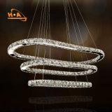 Do pendente quente dos anéis da venda 3 da planta de mercado lâmpada de suspensão candelabro de 220 volts