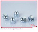 Acier inoxydable 304 316 noix Hex DIN1587 M30 de dôme de chapeau