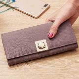 2017명의 Wallets Fashion Wallet Design 신식 우아한 여자 지갑 숙녀 핸드백 광저우 공장 Al329에서 하는 실제적인 가죽 지갑 숙녀 지갑