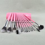 Componer el conjunto de cepillo, 12PCS, incluyendo cepillo de la cara, cepillo del sombreador de ojos, cepillo de la mejilla, cepillo de la frente, cepillo Esg10235 del labio