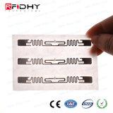 Tag da freqüência ultraelevada RFID de Ucode 7 do elevado desempenho para a gerência de varejo de Invetory