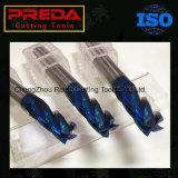固体炭化物のステンレス鋼のための青いNanoコーティングの端製造所