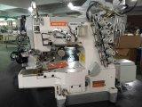 Super cama del cilindro de alta velocidad, máquina de coser de bloqueo con el recortador de Auto